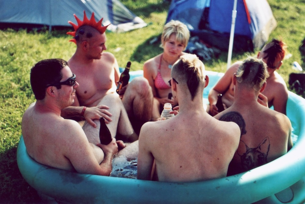 Punk-Rock Schwimmbad