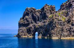 Punta Perciato, Filicudi, Liparische Inseln, Sizilien