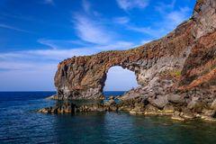 Punta Perciato, Pollara, Salina, Liparische Inseln, Sizilien