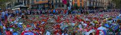 Punto cero ( Las Ramblas Barcelona 2017 08 17 )