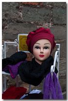 Puppe mit Hut