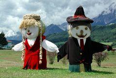 Puppen aus Stroh