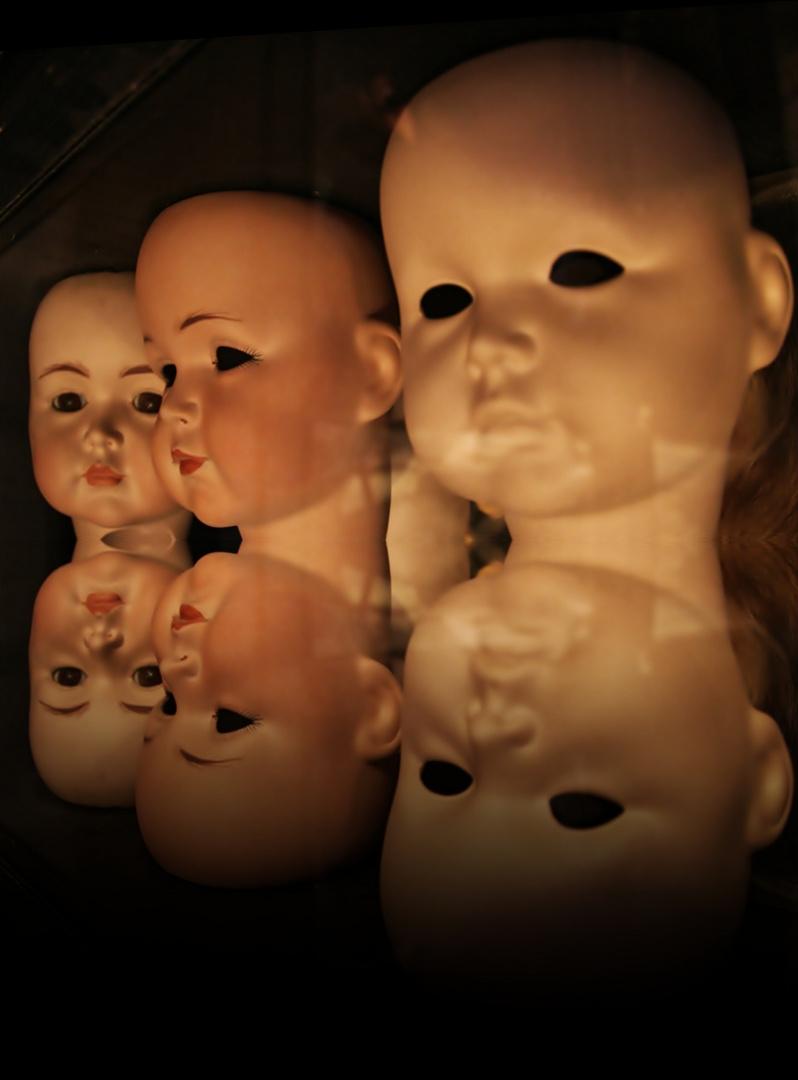 Puppenköpfe