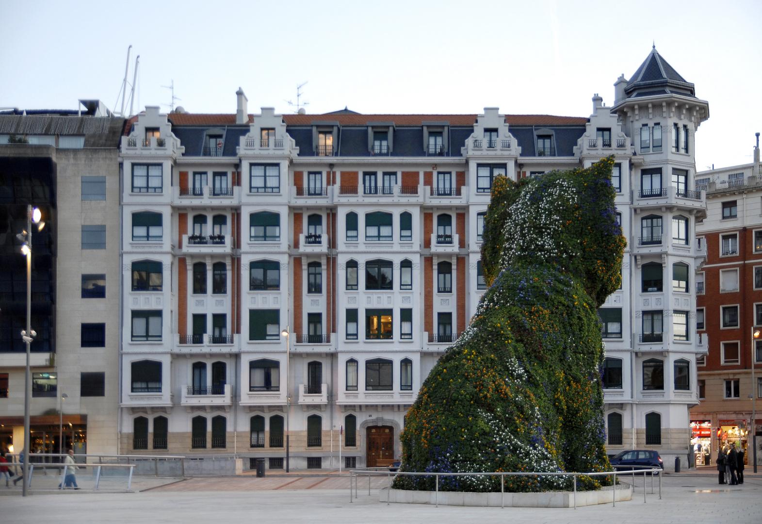 Puppy, il cane di Bilbao