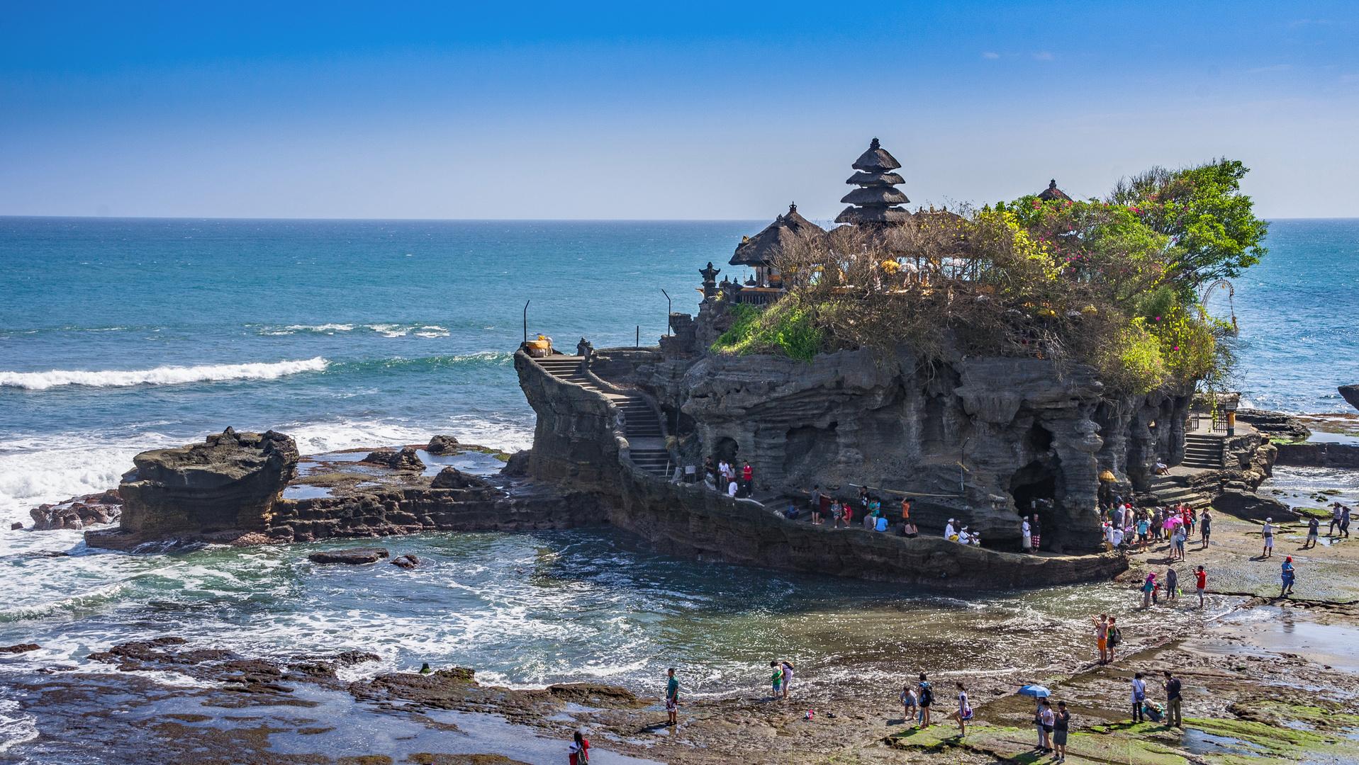 Pura Tanah Lot: der Tempel inmitten des Meeres