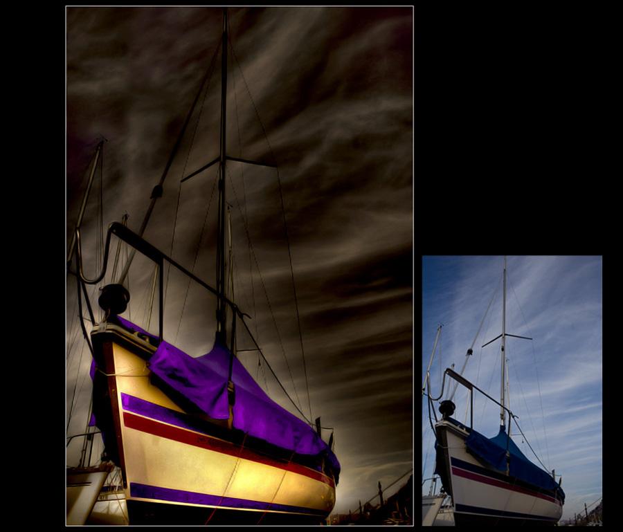 Purple Boat