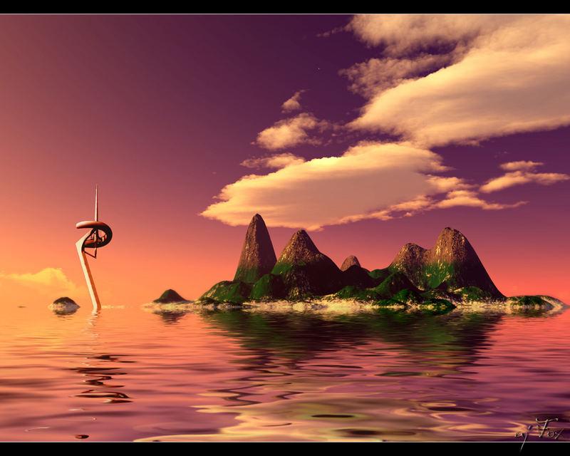 Purple Island...