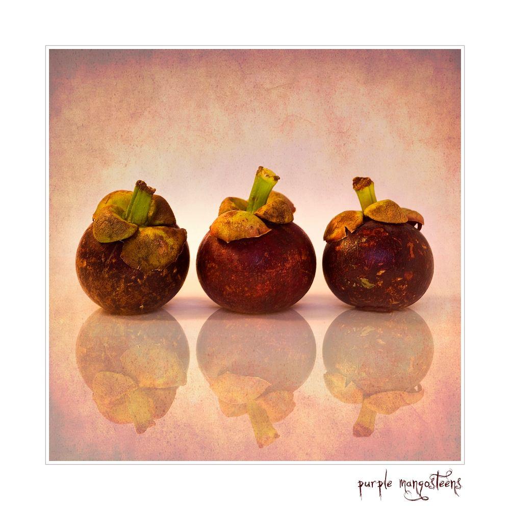Purple Mangosteens