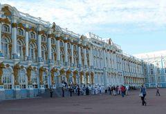 Puschkin Palast - Einlass mit Musike