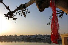 Pushkar Lake Sunset