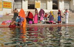 Pushkar.The Bathers,
