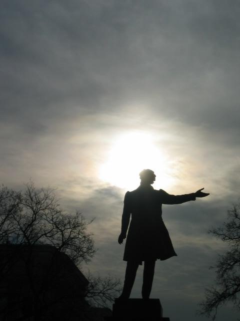 Pushkin and the sun
