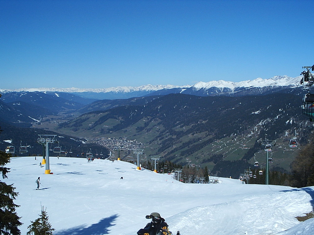 Pustertal, Helm, Richtung Westen Südtirol