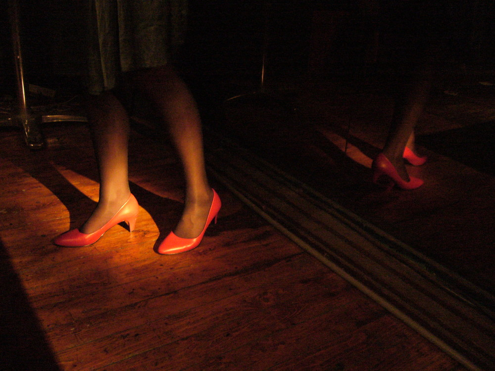 ...put on your red shoes and dance...