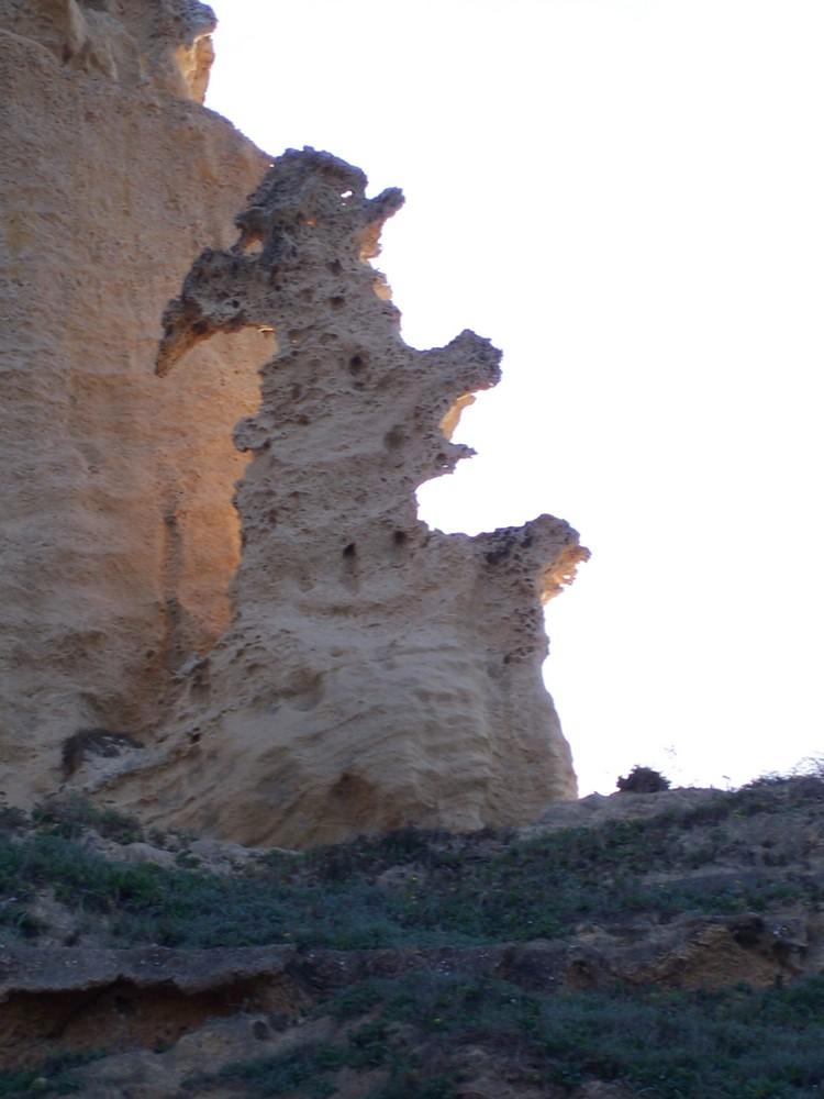 Putzu Idu,Sardegna-Scultura naturale