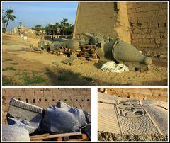 Puzzle - Ramses II. Statue