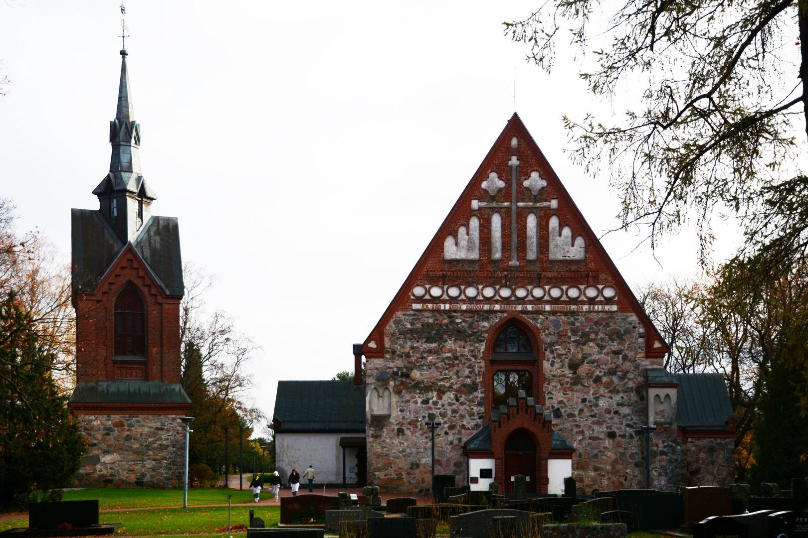 Pyhän Laurin kirkko, The Church of St. Lawrence