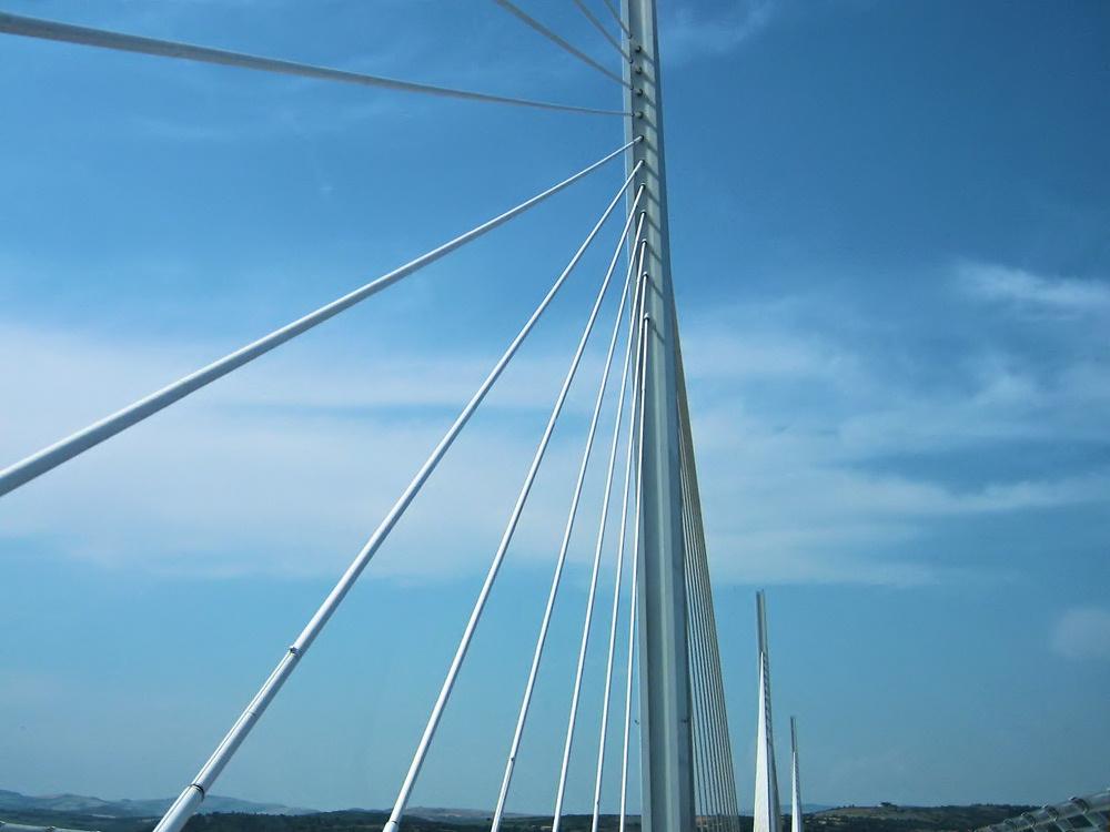 Pylon of the Millau Viaduct