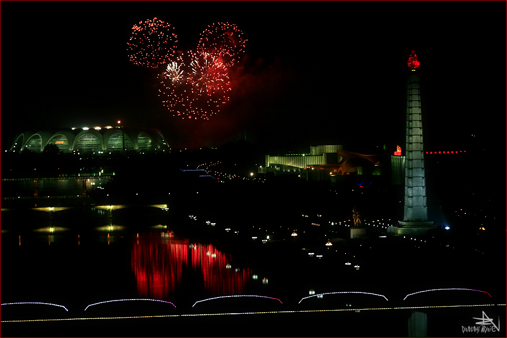 """ Pyongyang by night """