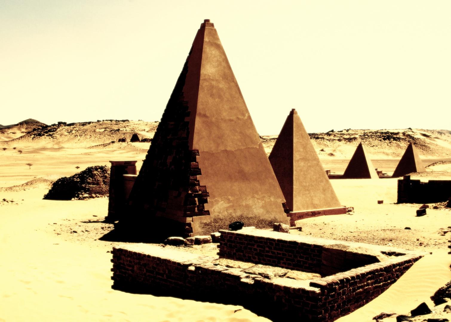 Pyramiden von Beraya,Sudan