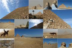 Pyramidenkollage