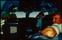Qantas Jumbo to Kai Tak