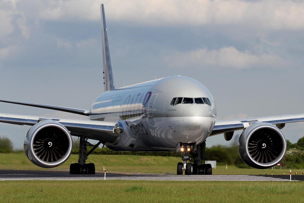 Qatar Airways Cargo Boeing 777F