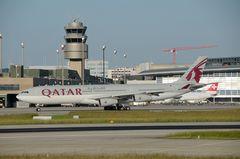 Qatar Amiri Airbus A 340-300 A7-AAH
