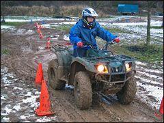 Quad Training im Hunsrück