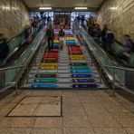 ...quadratisch, praktisch, treppe...