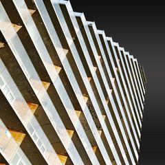 Quadratische Dachschräge