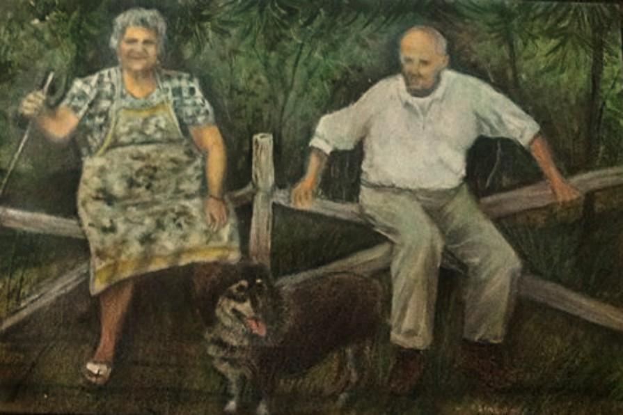 quadro genitori Domenico