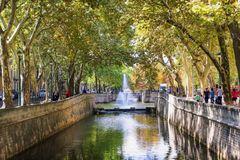 Quai de la Fontaine - Nîmes
