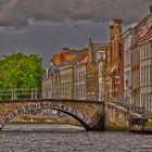 Quand il pleut sur Bruges