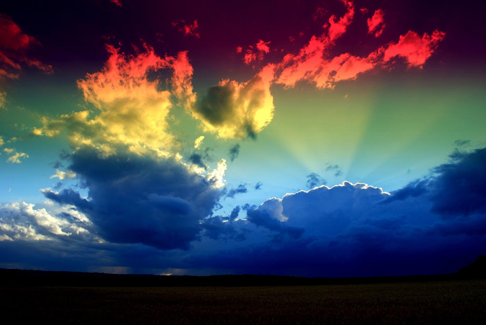 Quand la terre hisse ses couleurs !