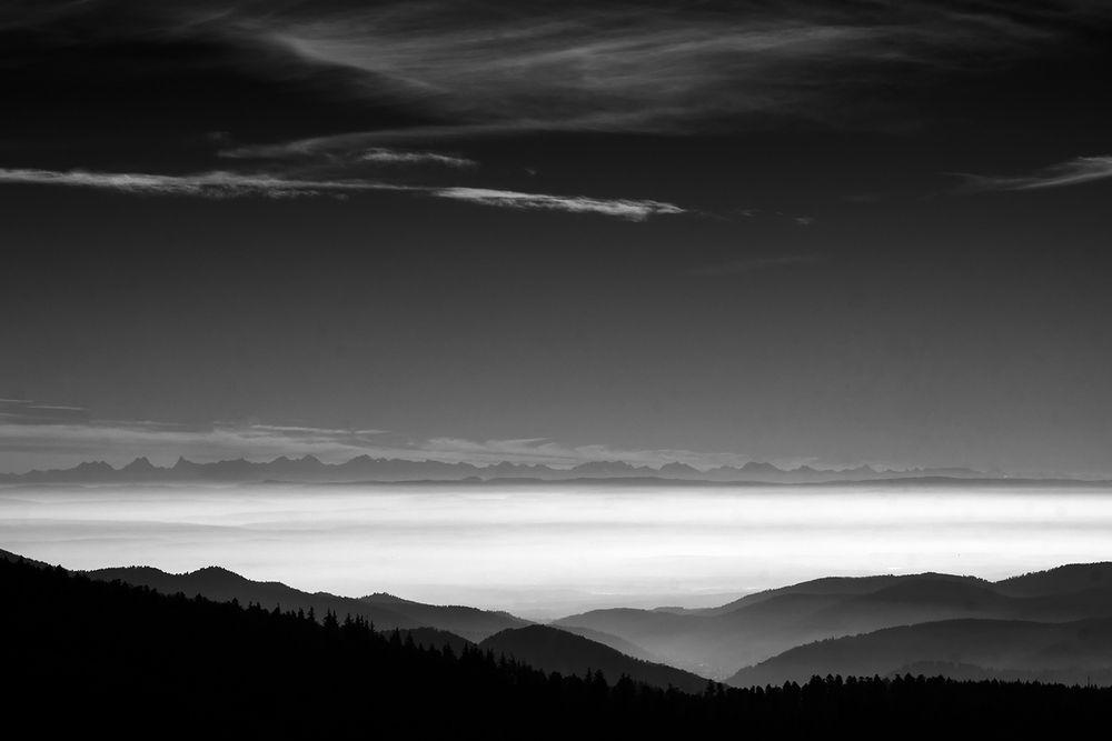 Quand les montagnes se rejoignent...