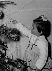 quando in casa si faceva l'albero di Natale