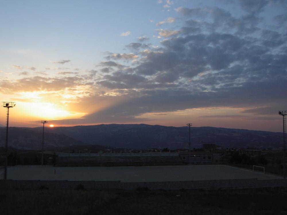 quando tramonta il sol.....