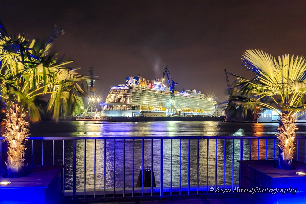 """Quantum Of The Seas"" bei B+V in Hamburg mit Karibikfeeling"