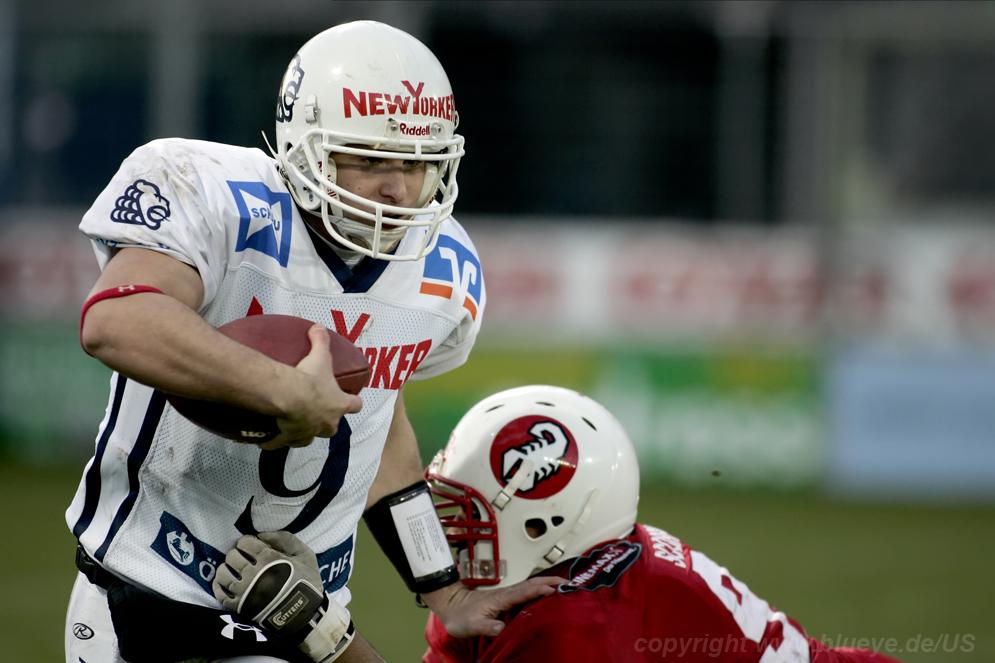 Quarterback Braunschweig Lions