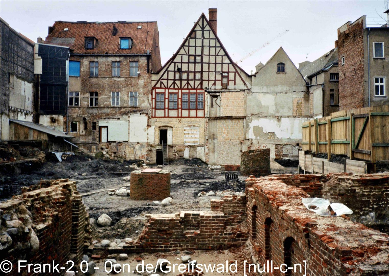 © Quartier zwischen Markt und Brüggstraße (Innenhof) 1995