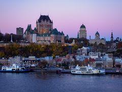 Quebec City - zur blauen Stunde