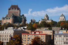 Québec vom Sankt Lorenz-Strom aus gesehen