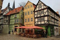 Quedlinburg - Ein Cafe in 7 Häusern