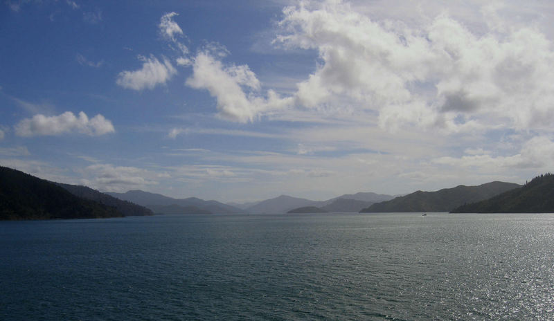 Queen Charlotte Sound. [Totaranui]