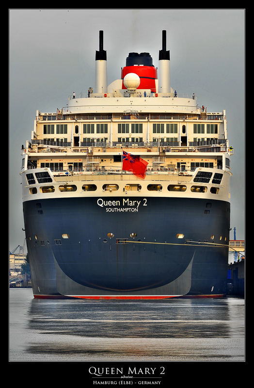 """""""Queen Mary 2"""" at Sunrise"""