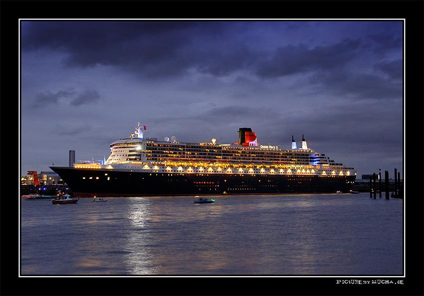 Queen Mary 2 | Hamburg 01.08.2005 teil 3