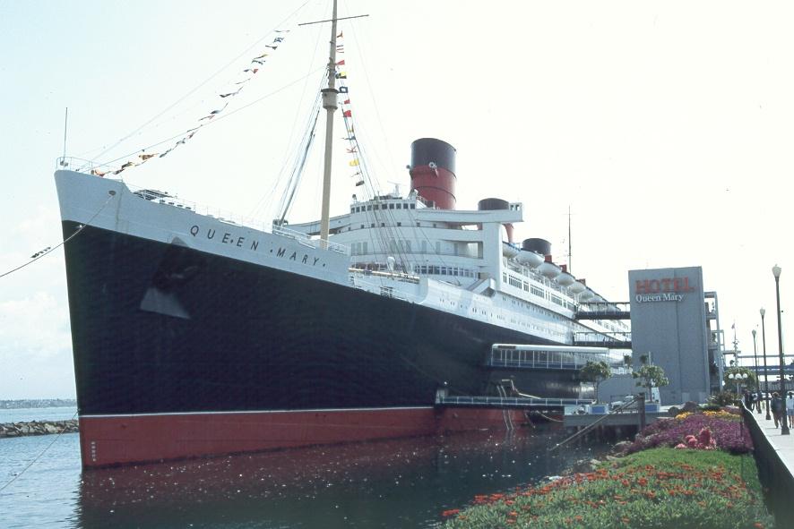 Queen Mary Als Hotelschiff Foto Bild Schiffe Und Seewege