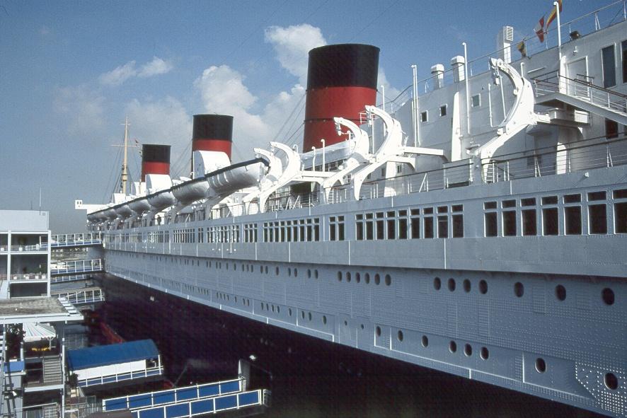 Queen Mary In Los Angeles Foto Bild Schiffe Und Seewege