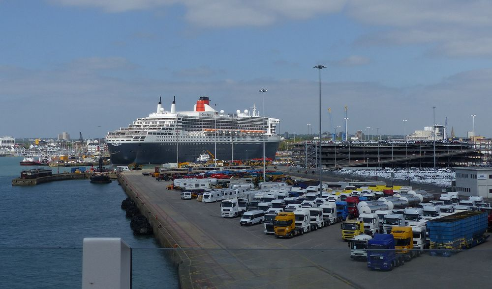 Queen Mary2 in Southampten